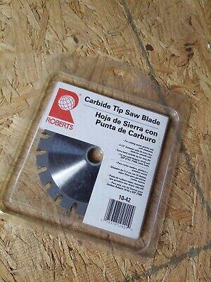Roberts Carbide Tip Saw Replacement Blade Undercut Jamb Saw 10-40