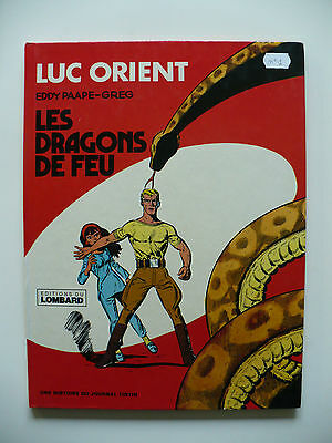 RE 1976 (très bel état) - Luc Orient 1 (les dragons de feu) - Paape & Greg