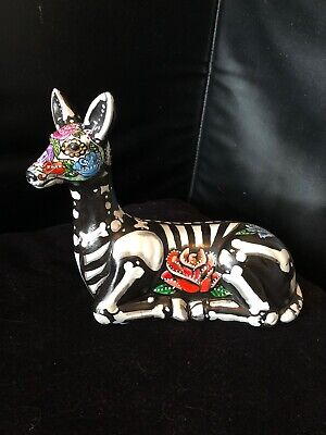 Colors Of Day Of The Dead (Day of the Dead Sugar Skull  Deer Art  New Colorful)