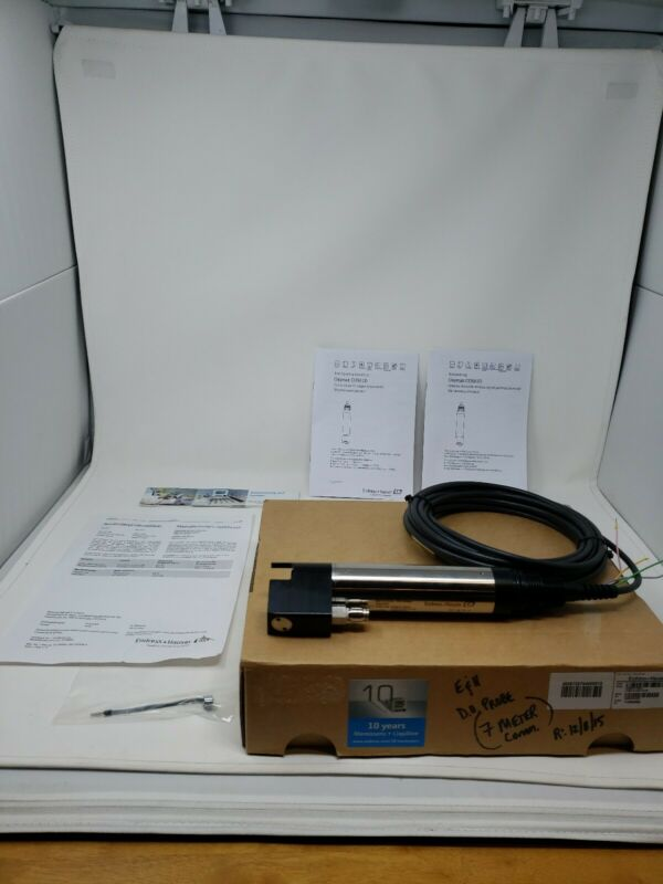 Endress Hauser Oxymax COS61D Dissolved Oxygen Probe, W/Optional Cleaning Head