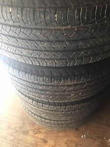 """16"""" Factory Ford Escape Rims and Tires"""