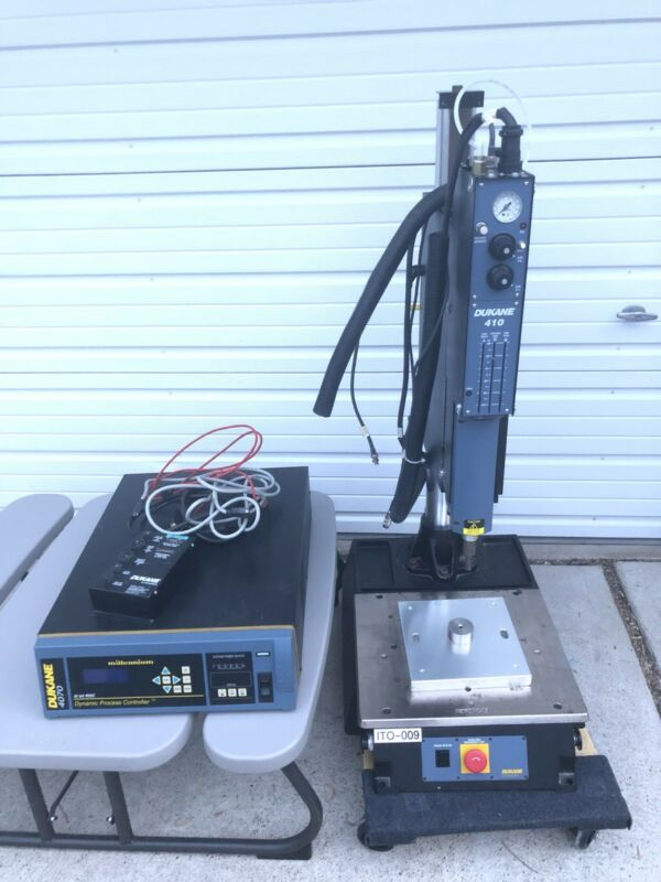AS-IS Dukane 410 Ultrasonic Welder & 4070 Controller 40khz - For Parts - Freight