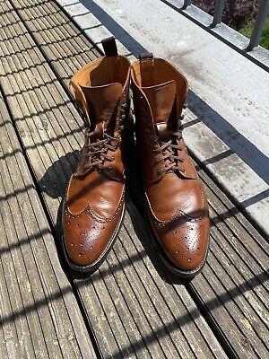 J FitzPatrick, Holman Boot 9.5E UK Crockett Jones Carmina Edward Green John Lobb