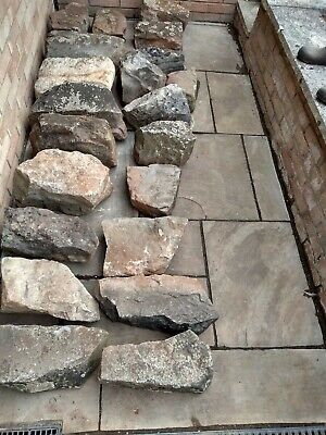 21 Large Natural Stones – Ideal for Landscaping/ Edging/Rockery/ Water Feature