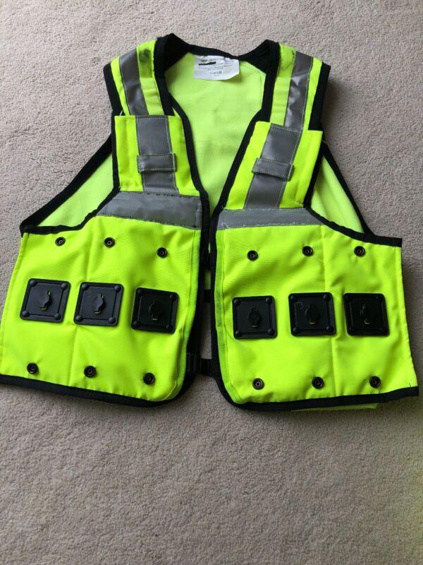 XL - Aegis Ex Police, Security Hi Vis Utility Equipment Carrier Vest Grade A