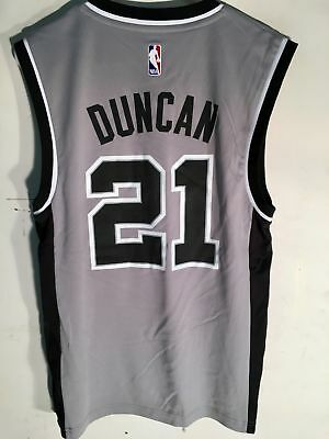 Adidas San Antonio Spurs (Adidas NBA Jersey San Antonio Spurs Tim Duncan Grey sz 2X )