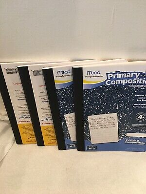 Primary Composition Notebooks (Mead Primary Composition Book, Ruled, 100 Sheets/200 Pages (09902), 4)