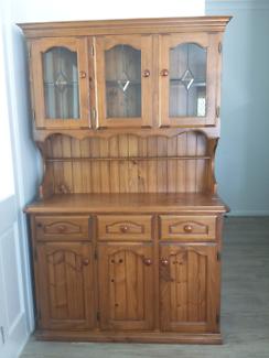 Solid Wood Kitchen Wall Unit