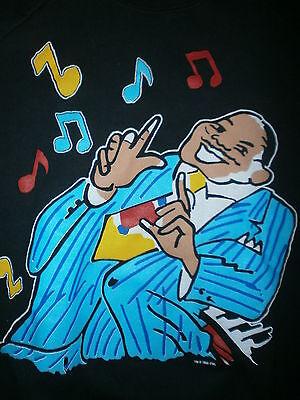 1990 Five Guys Named Moe Sweatshirt Musical Louis Jordan Black Jazz Vtg 80S 90S