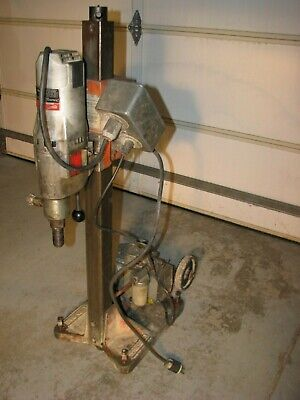 Milwaukee Dymodrill 2 Speed 4094 Core Drilling Coring Drill Rig With Vacuum Pump