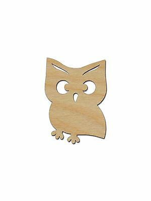 Owl Shape Unfinished Wood Craft Cutouts Variety Sizes Artistic Craft Supply](Owl Cutouts)