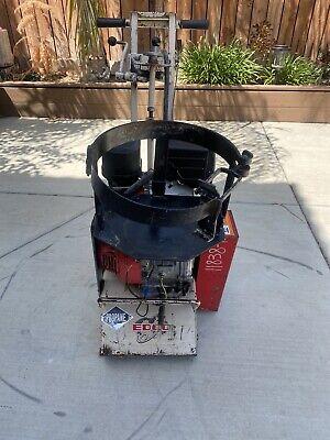 Edco Scarifier Cmp-8-9h Concrete Grinder Walk Behind Gas Propane