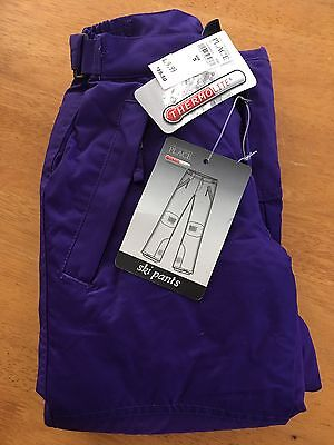 The Childrens Place Purple Ski Snow Pants Girls Size 5 NEW