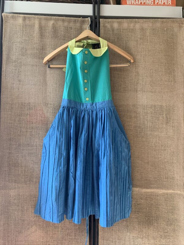 Vintage Style Pleated Apron Kitchen One Size Super Cute