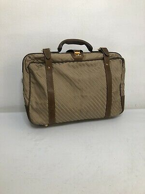GUCCI Hands Bag Gucci Authentic Vintage Monogram Weekend Travel Tote Duffle Bag.