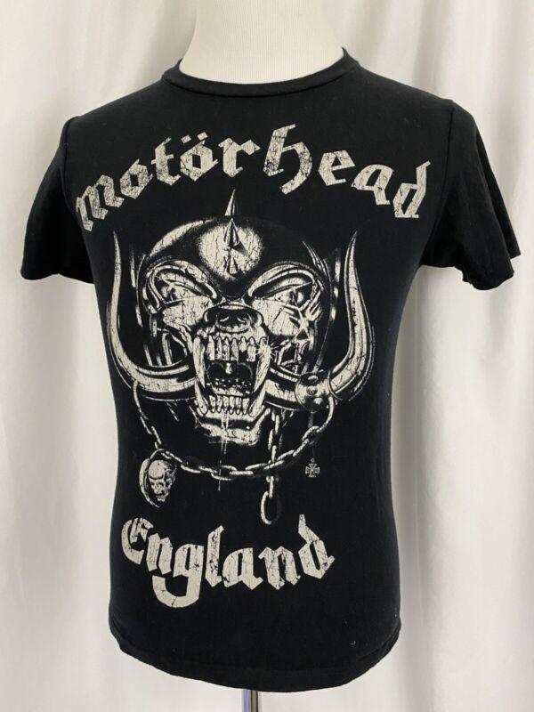 NWOT Vintage Motörhead England Small S Pacific Black TShirt Lemmy Metal T-shirt