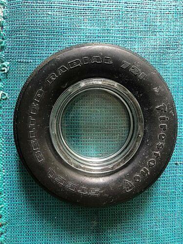Vintage Tire Ashtray Firestone