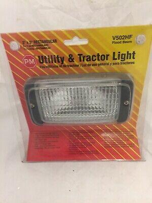 Utility Tractor Light 3 X 5 Rectangular Flood Beam New