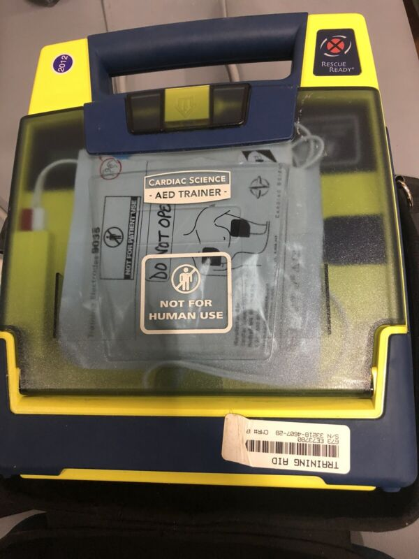 Cardiac Science AED Trainer with Case