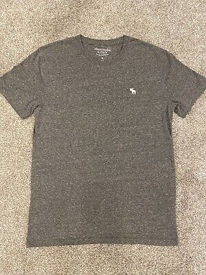 Abercrombie & Fitch - Men's Plain Grey Tshirt - Excellent Condition size s