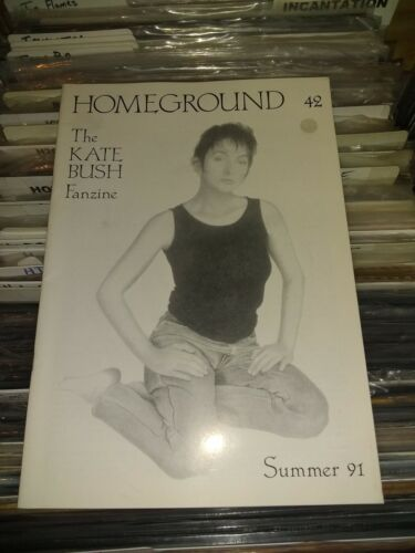 KATE BUSH - HOMEGROUND ISSUE # 42 SUMMER 1991  - RARE/OUT OF PRINT