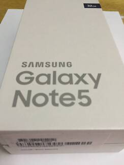 New Samsung Galaxy Note5 Australian Stock Unlimited data 2 months Auburn Auburn Area Preview