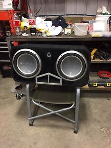 "2 Rockford Fosgate Punch P2 12"" Subwoofers"