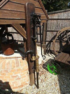 Antique water pump brass