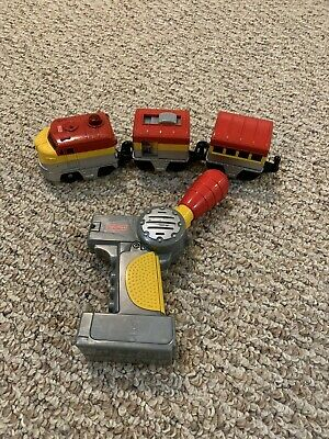 Rare~ GEO TRAX PACIFIC CHIEF TRAIN & REMOTE CONTROL 2005~SHIPS FREE
