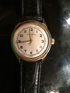 Real Longines 14k solid gold watch