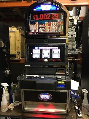 Bally Alpha  Blazing 7's & $'s SLOT MACHINE