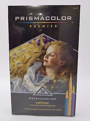 Prismacolor Premier Verithin Colored Pencil Set Of 36 Colors 2428