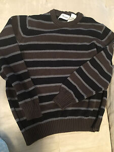 penmans brown sweater size large