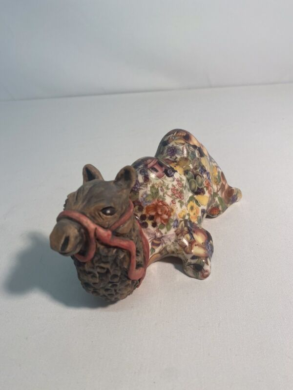 HP Camel Art Pottery Signed GENTiTHES