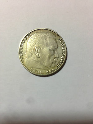 2 Reichsmark Jahrgänge von 1936 bis 1939, wählen Sie selbst aus, Schnäppchen !!!