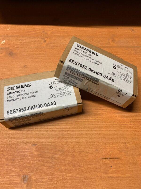 6ES7952-0KH00-0AA0 Flash Memory Module - 256 KB Siemens Factory Sealed