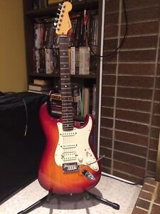 2001 Fender American Stratocaster HSS Electric Guitar