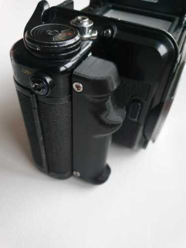 Pentax Grip Black for Pentax 67 6x7 Right Hand Grip - Screws Included - Black