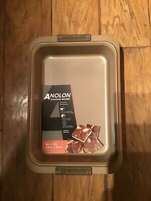 NEW Anolon Advanced Bronze Nonstick Cake Pan