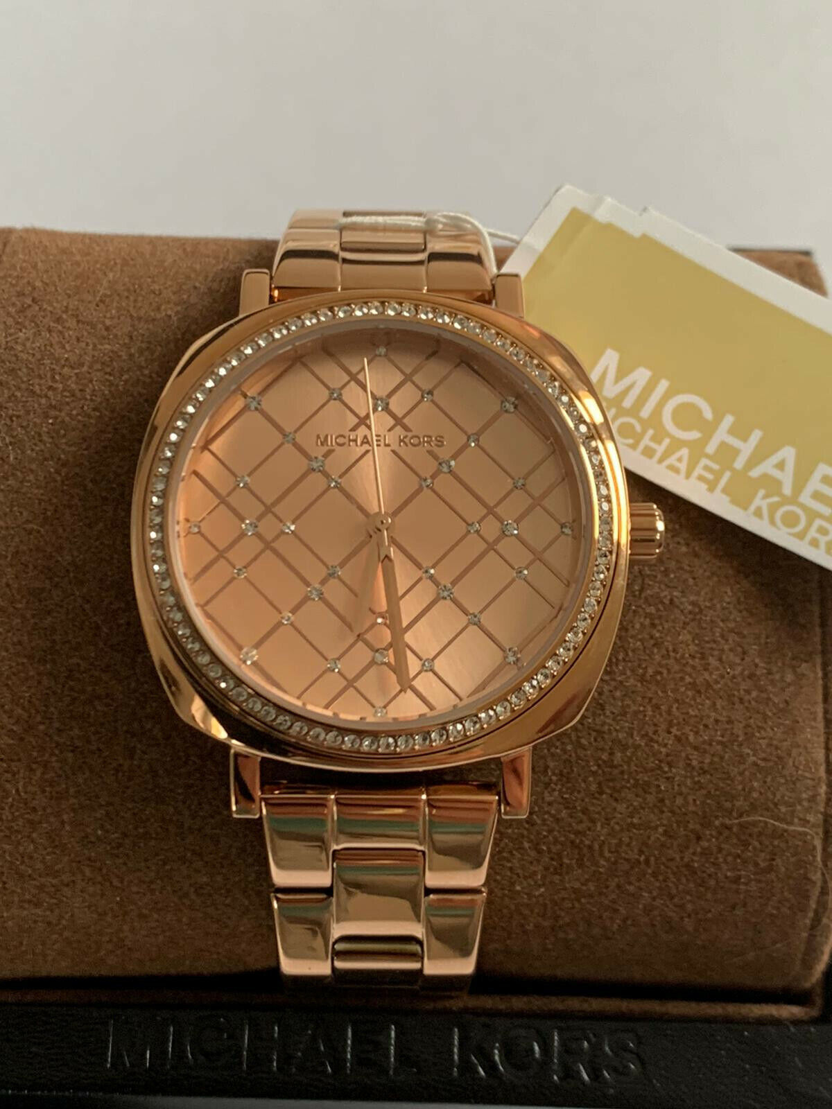 MICHAEL KORS Damen Armbanduhr Uhr Watch Rosè - Gold NEU und OVP Original - Box