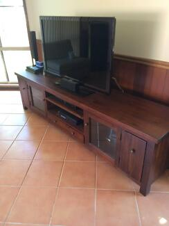 2 x TV units, revolving DVD tower, cube shelf, dining set & more Schofields Blacktown Area Preview