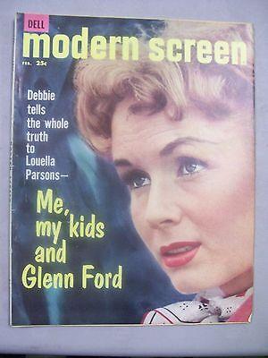 MODERN SCREEN MAGAZINE FEBRUARY 1960 ME KIDS GLEN FORD LOUELLA PARSONS