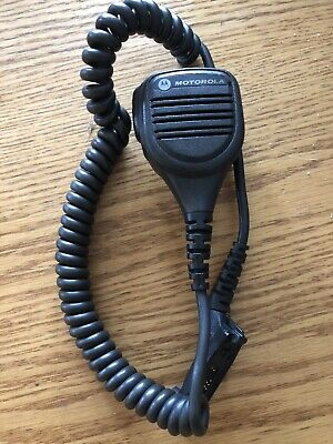 Motorola Windporting Speaker Mic Pmmn4040a Xpr6550 Xpr7550 Apx7000 Used