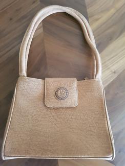 Genuine elephant leather bag *never used