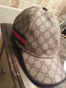 Grey Authentic Gucci hat