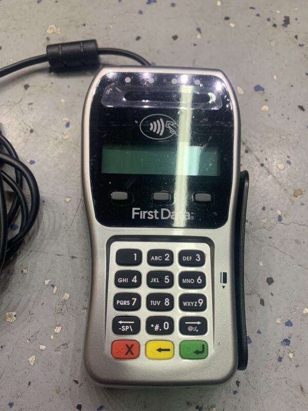 First Data FD35 Duo Dial/IP Credit Card Machine USB