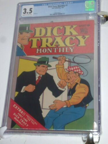 Dick Tracy Monthly #1 CGC 3.5    Year printed : 1948 🤑