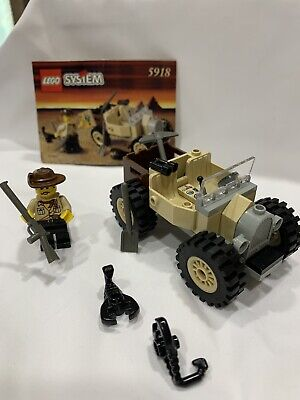 Lego #5918 Adventurers: Scorpion Tracker 99.9% Comp. w/Instructions/Vintage