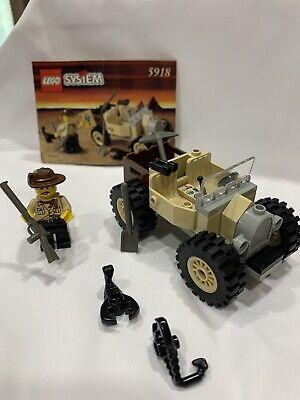 Lego #5918 Adventurers: Scorpion Tracker 99.9% Comp. w/Instructions/Vintage