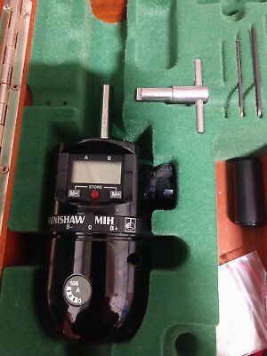 Renishaw Mih Manual Indexable Cmm Touch Probe Head Tested With Original Wood Box